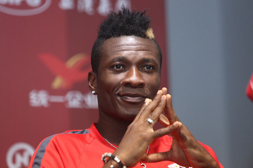 Photo of GHANAIAN FOOTBALLER ASAMOAH GYAN LAUNCHES AIRLINE