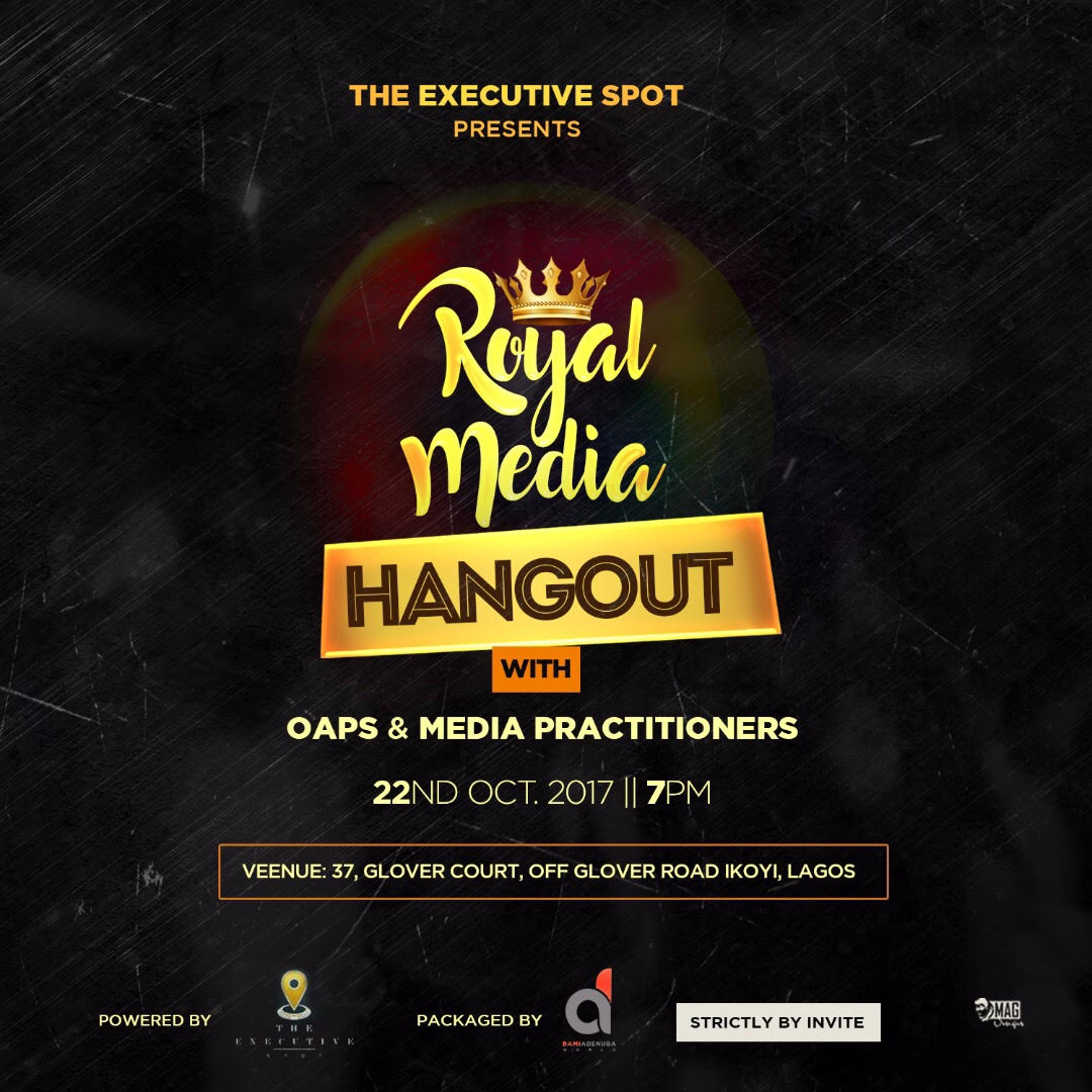 Photo of DENRELE EDUN, MOET, OLORISUPERGAL, NANCY ISIME, VJ ADAMS, LOLO AND MORE SET FOR THE 'ROYAL MEDIA HANGOUT'