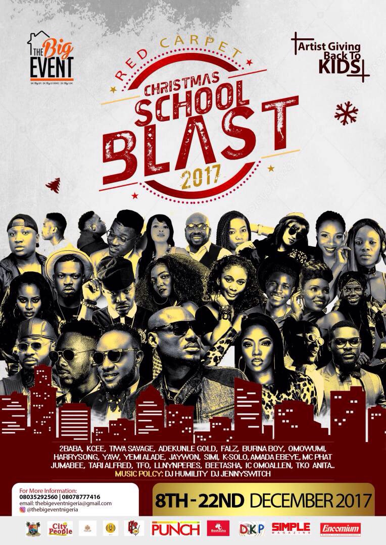 Photo of THE BIG EVENT GIVES BACK WITH RED CARPET CHRISTMAS SCHOOL BLAST 2017