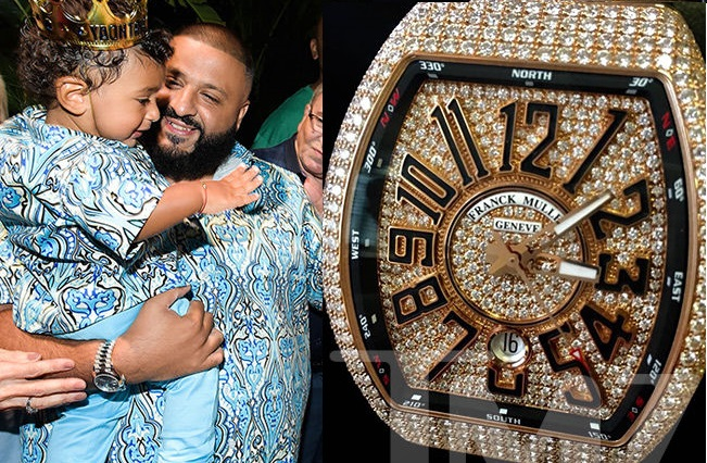 Photo of DJ KHALED BUYS HIS SON ASAHD N36 MILLION DIAMOND-STUDDED WATCH FOR 1ST BIRTHDAY