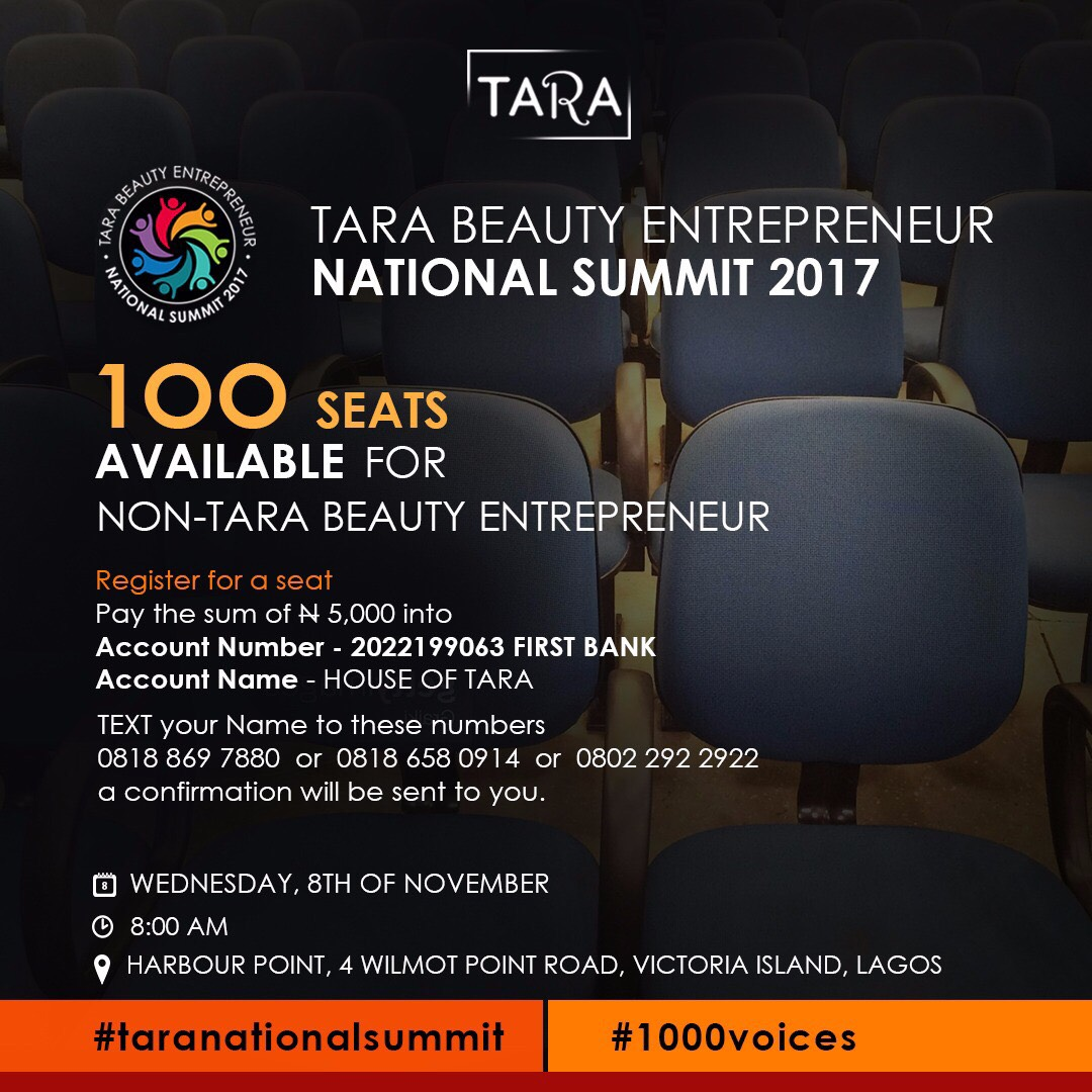 Photo of HOUSE OF TARA TO HOST NATIONAL BEAUTY ENTREPRENEUR SUMMIT ''1000 VOICES''.
