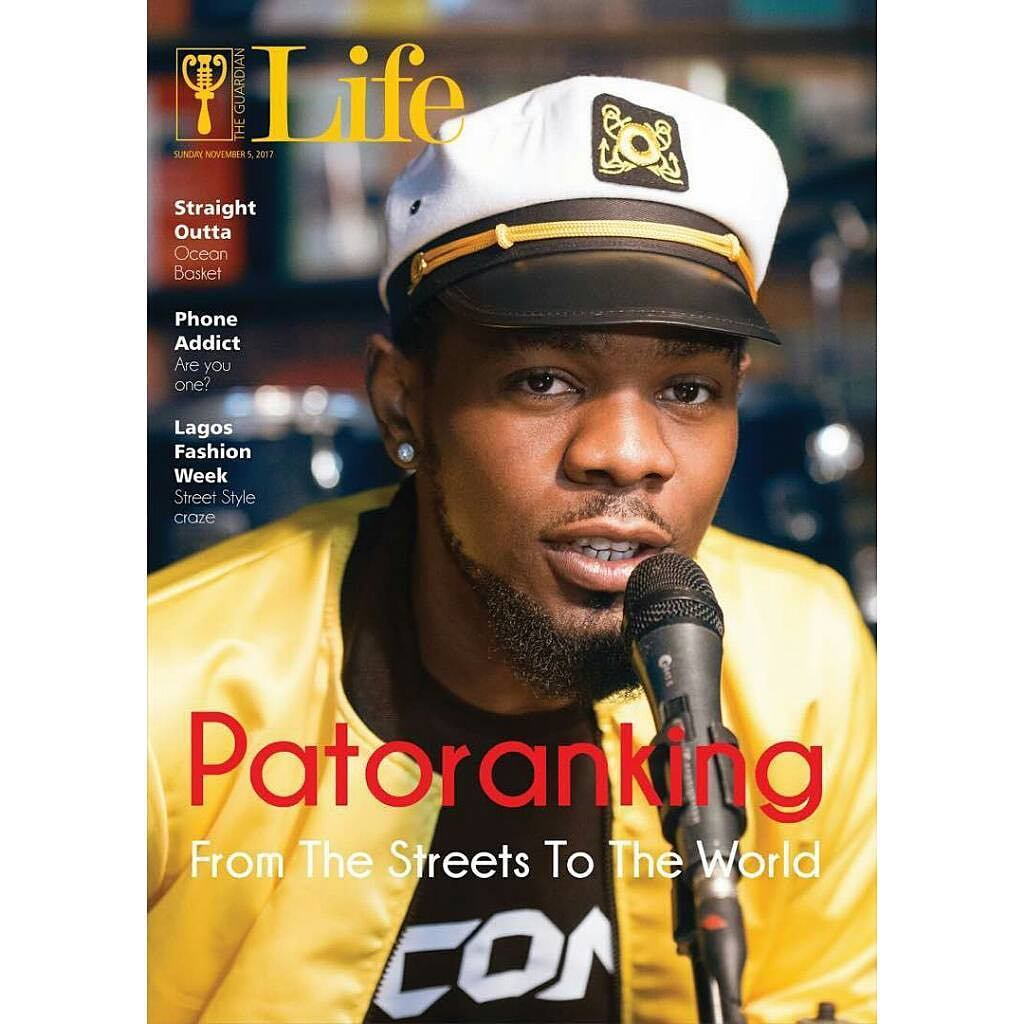 Photo of FROM THE STREETS TO THE WORLD! PATORANKING COVERS GUARDIAN LIFE MAGAZINE'S LATEST ISSUE.