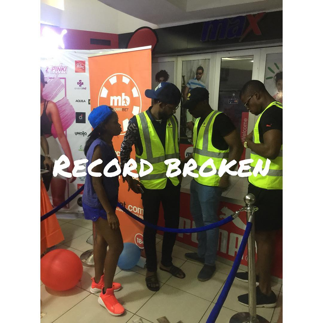 Photo of SHE DID IT! PINKI DEBBIE BEATS WORLD RECORD FOR LONGEST DANCING MARATHON BY AN INDIVIDUAL.