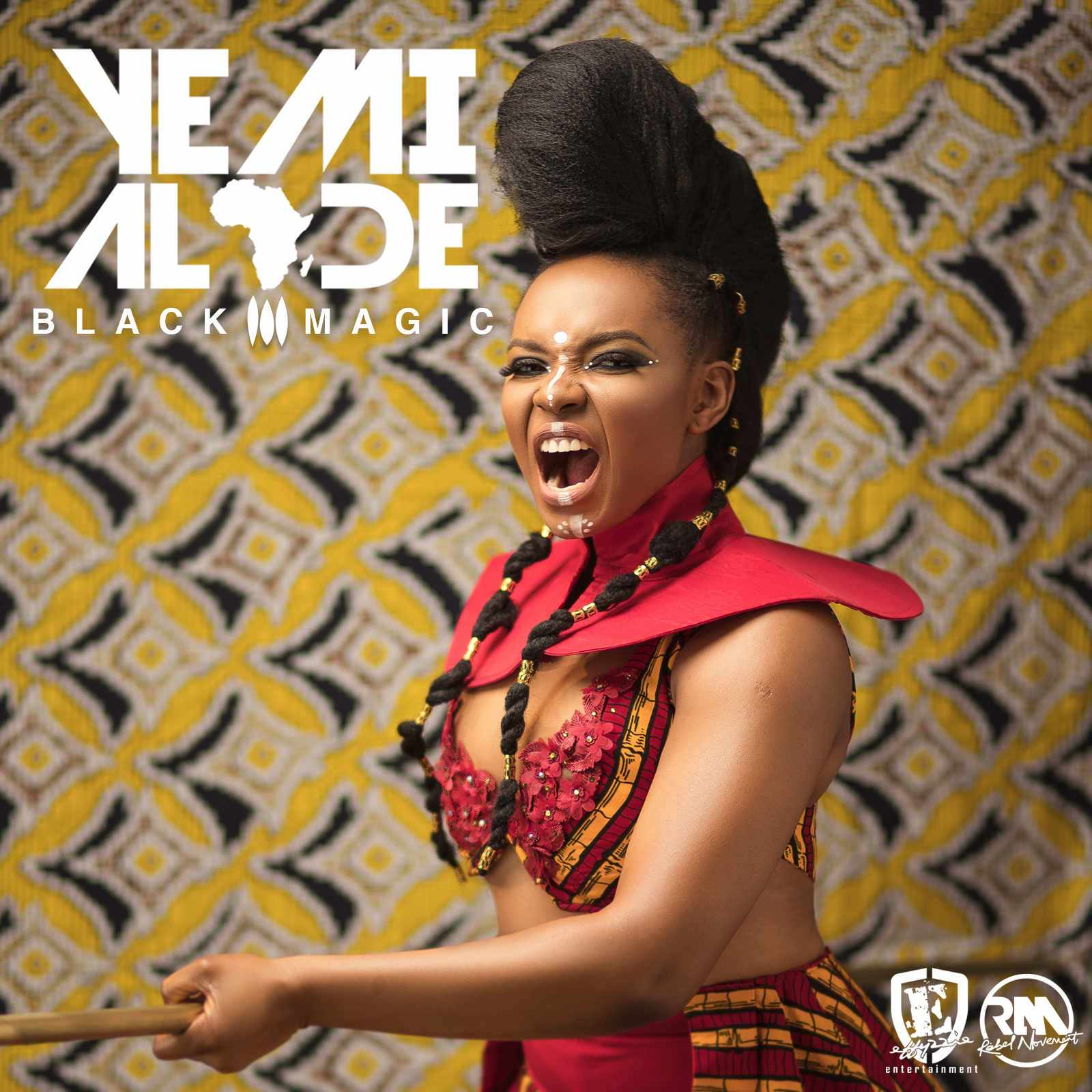 "Photo of YEMI ALADE RELEASES COVER ART & TRACK LIST FOR FORTHCOMING ALBUM ""BLACK MAGIC""."