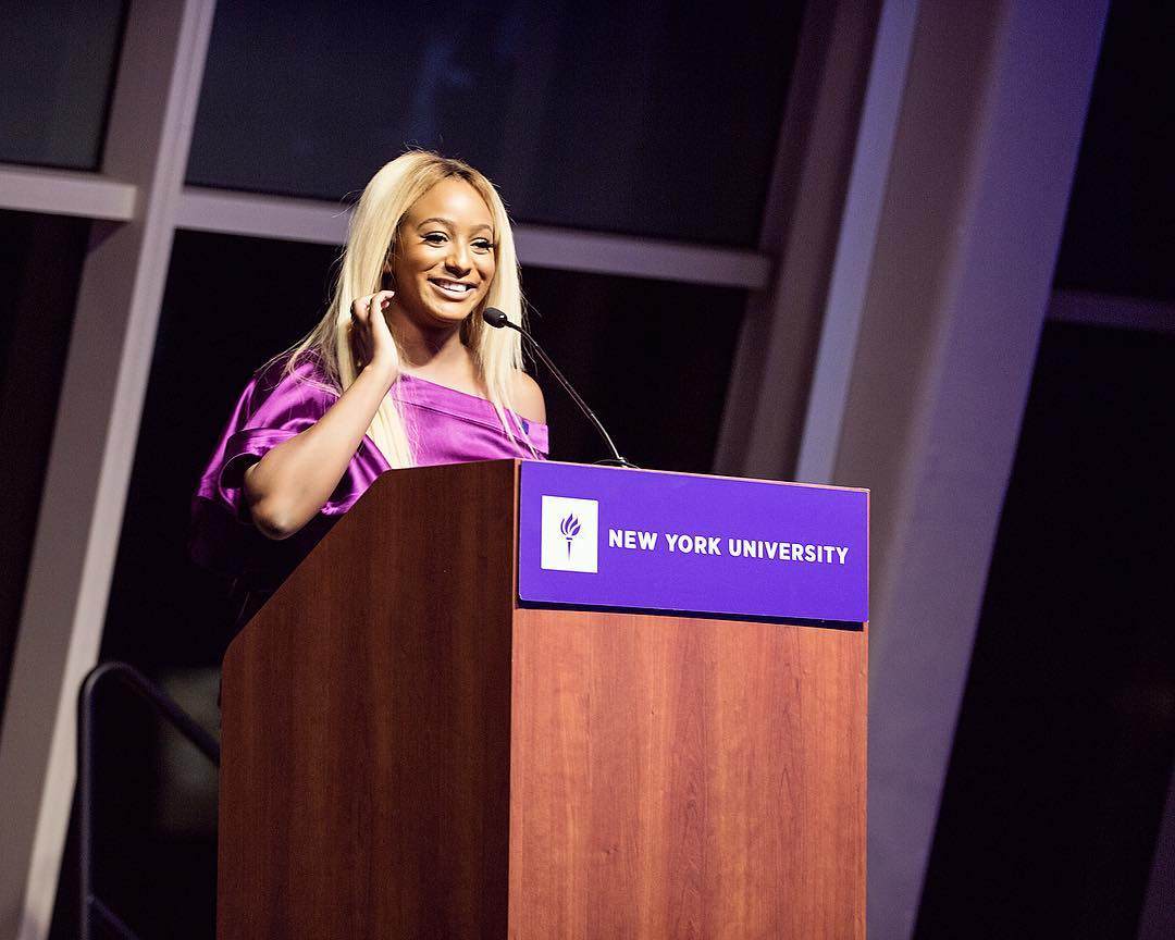 "Photo of NEW YORK UNIVERSITY HONORS DJ CUPPY WITH ""ALUMNI ARTISTIC ACHIEVEMENT AWARD"""