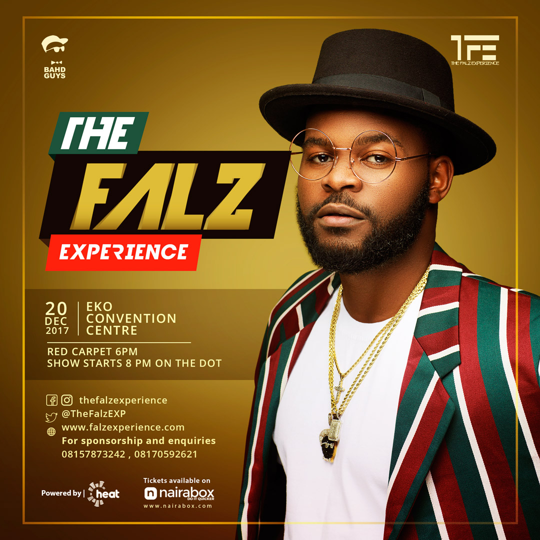 Photo of FALZ SET FOR HIS FIRST CONCERT 'THE FALZ EXPERIENCE'.