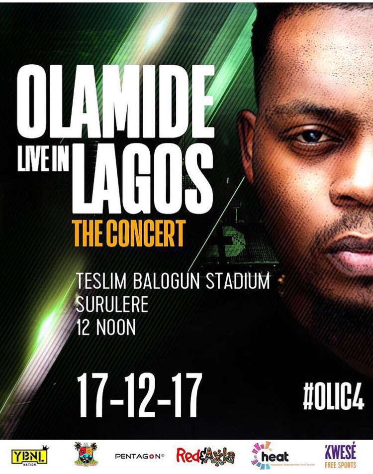Photo of OLAMIDE LIVE IN LAGOS CONCERT. #OLIC4 IS BACK…
