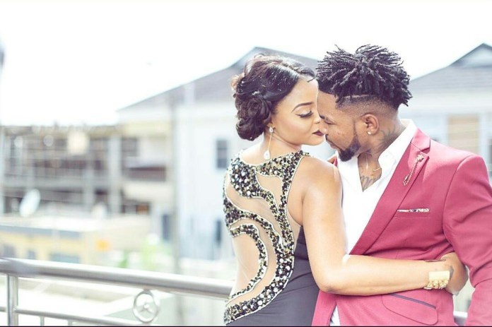 Photo of ORITSE FEMI AND WIFE NABILA RELEASE GLAMOROUS PRE-WEDDING PHOTOS AHEAD OF WHITE WEDDING