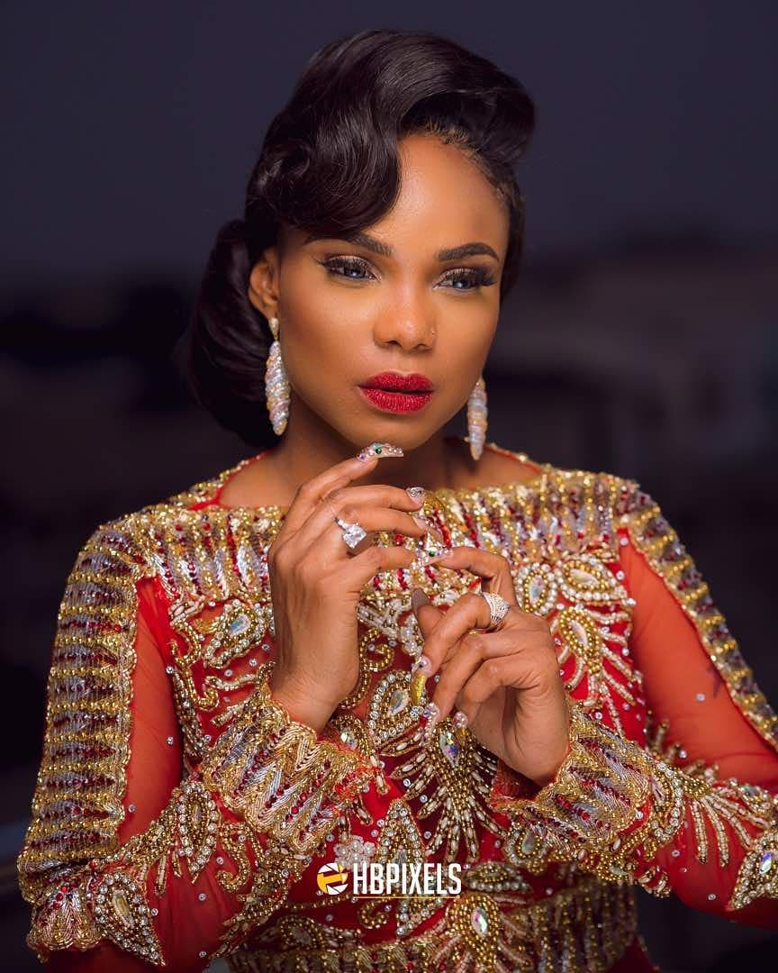 Photo of IYABO IS FORTIFIED. CHECK OUT IYABO OJO'S STUNNING OUTFIT TO HER 40TH BIRTHDAY DINNER.