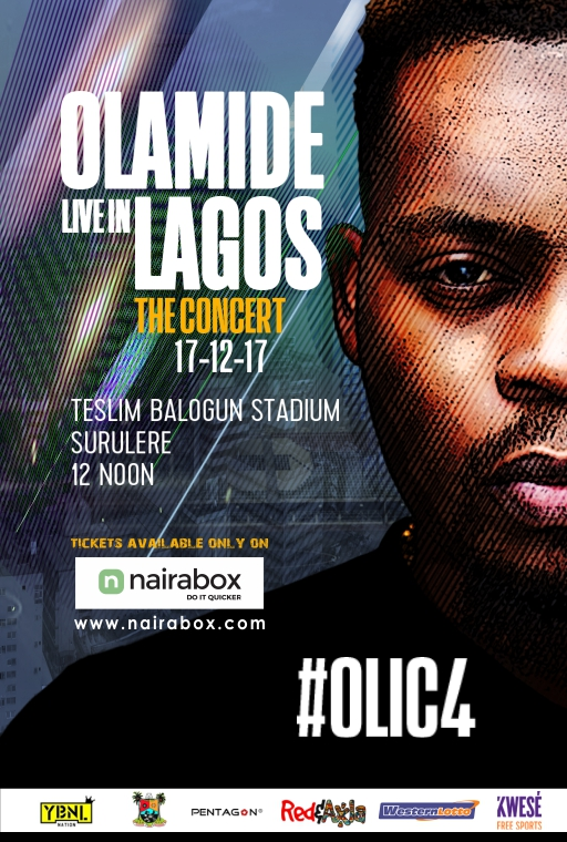 Photo of ARE YOU READY? OLAMIDE'S #OLIC4 IS HAPPENING THIS SUNDAY DECEMBER 17TH.