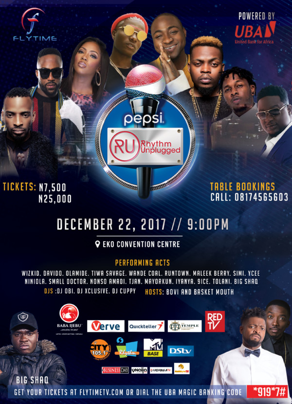 Photo of EVENT UPDATE. PEPSI RHYTHM UNPLUGGED HOLDS ON FRIDAY, DEC. 22ND