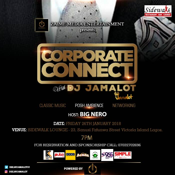 "Photo of ZAIME MEDIA ENTERTAINMENT PRESENTS ""CORPORATE CONNECT WITH DJ JAMALOT."