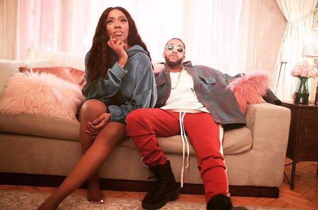 Photo of TIWA SAVAGE FEATURES FORMER B2K MEMBER, OMARION IN NEW VISUALS.