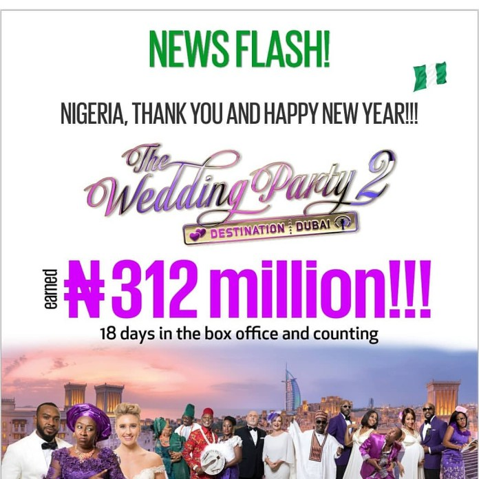 Photo of SMILING TO THE BANK! THE WEDDING PARTY 2 GROSSES OVER 300 MILLION IN 18 DAYS.