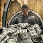 """""""BLACK PANTHER"""" BECOMES THE HIGHEST GROSSING SUPERHERO MOVIE OF ALL-TIME."""