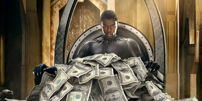 "Photo of ""BLACK PANTHER"" BECOMES THE HIGHEST GROSSING SUPERHERO MOVIE OF ALL-TIME."