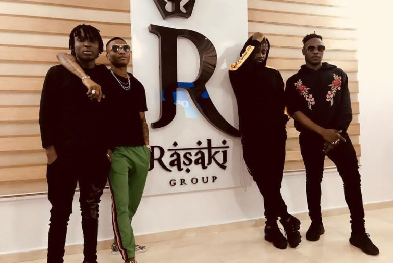 Photo of L.A.X LAUNCHES RASAKI MUSIC GROUP HQ