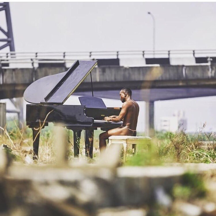 "Photo of BRYMO GOES ALMOST NUDE IN VISUALS FOR ""HEYA""."