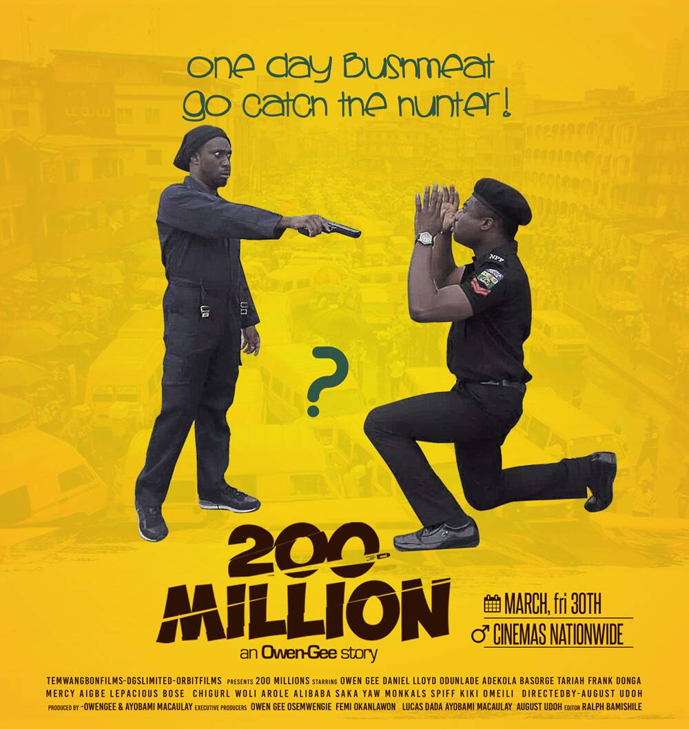 "Photo of ""200 MILLION"" NOLLYWOOD COMEDY MOVIE BY OWEN GEE STARRING ODUNLADE ADEKOLA, MERCY AIGBE, ALI BABA NOW AVAILABLE IN ALL CINEMAS NATIONWIDE."