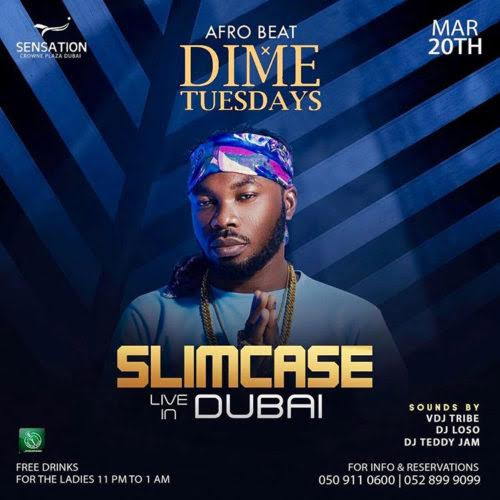 Photo of #SAINTSAMIGANJA: SLIMCASE TO PERFORM IN DUBAI FOR THE FIRST TIME SINCE HE HIT STARDOM
