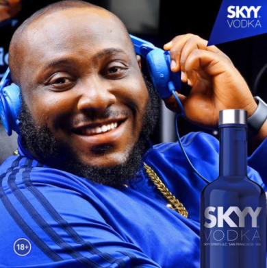 "Photo of MAVIN RECORDS DJ, DJ BIG N SIGNS MULTIMILLION NAIRA DEAL WITH INTERNATIONAL BRAND ""SKYY VODKA""."