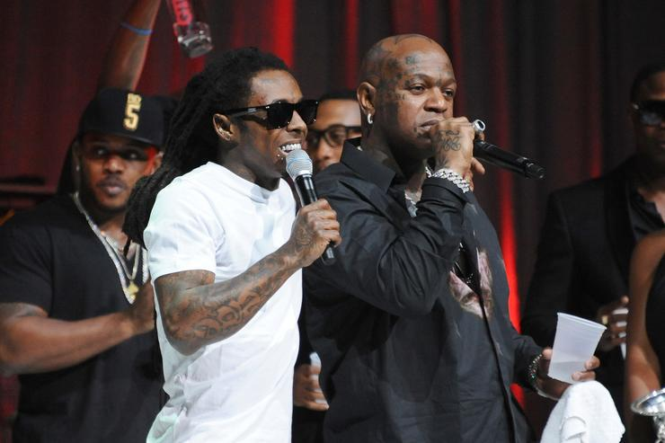 Photo of LIL WAYNE ATTENDS BIRDMAN'S ALBUM LAUNCH.