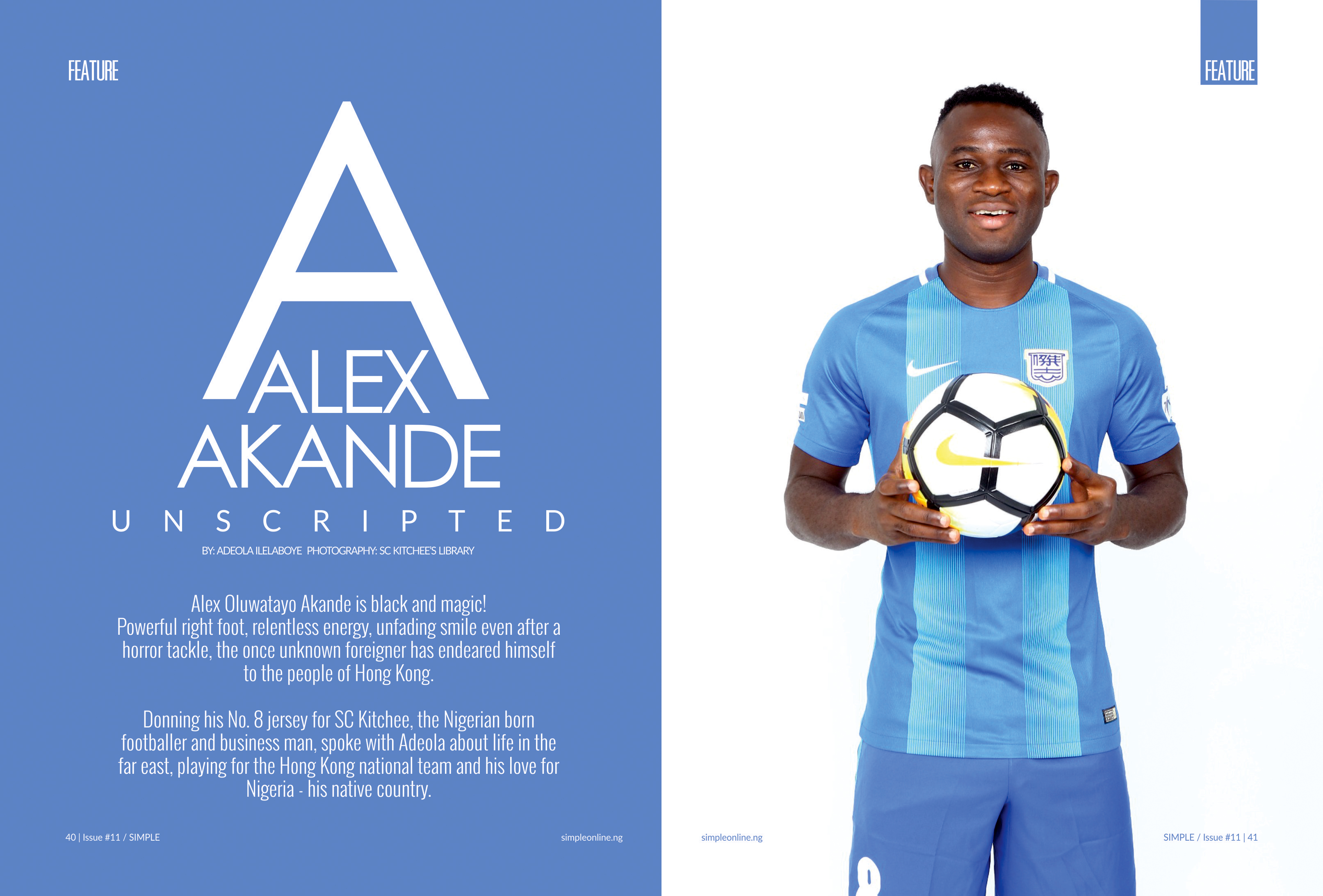Photo of ALEX AKANDE UNSCRIPTED