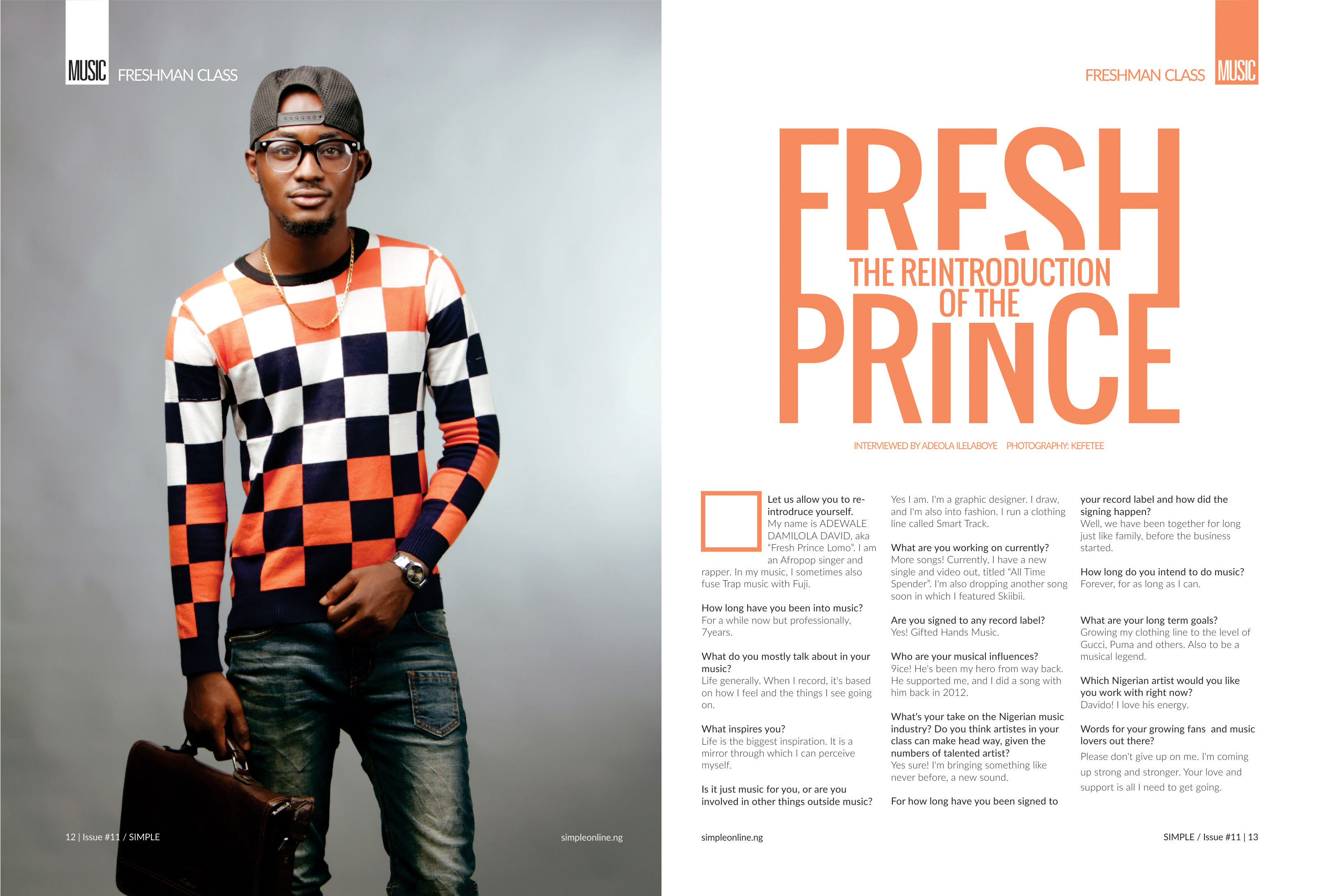 Photo of THE REINTRODUCTION OF FRESH PRINCE