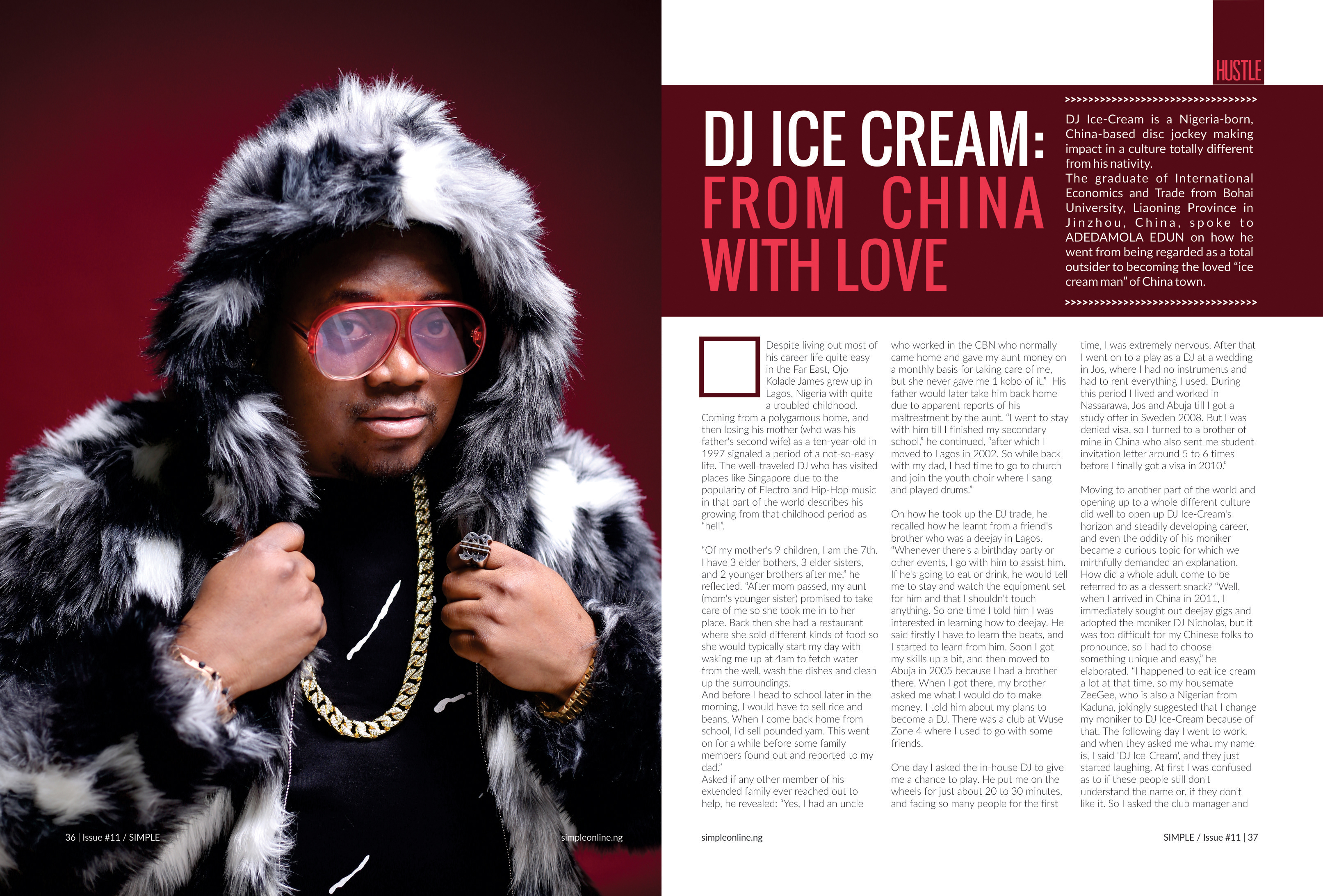 Photo of DJ ICE CREAM: FROM CHINA WITH LOVE