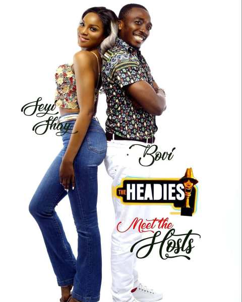 Photo of BOVI AND SEYI SHAY UNVEILED AS HOSTS OF HEADIES 2018.