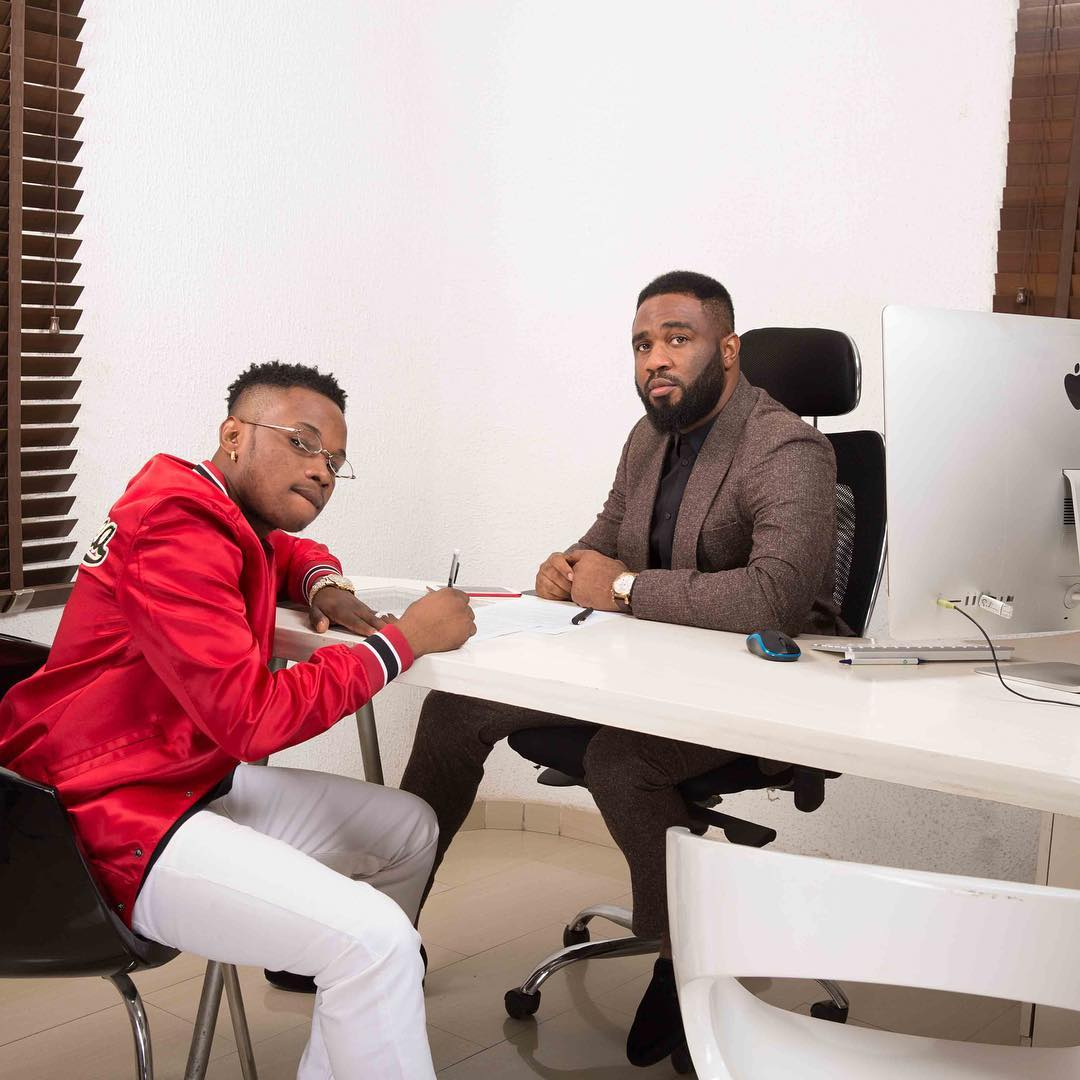 Photo of PROJECT FAME STAR DAPO SIGNS NEW MANAGEMENT DEAL WITH PRAIZ.