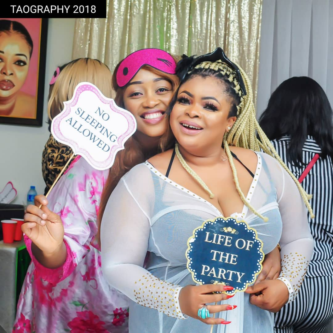 Photo of SEE CUTE PHOTOS FROM  DAYO AMUSA  STAR-STUDDED SLUMBER PARTY