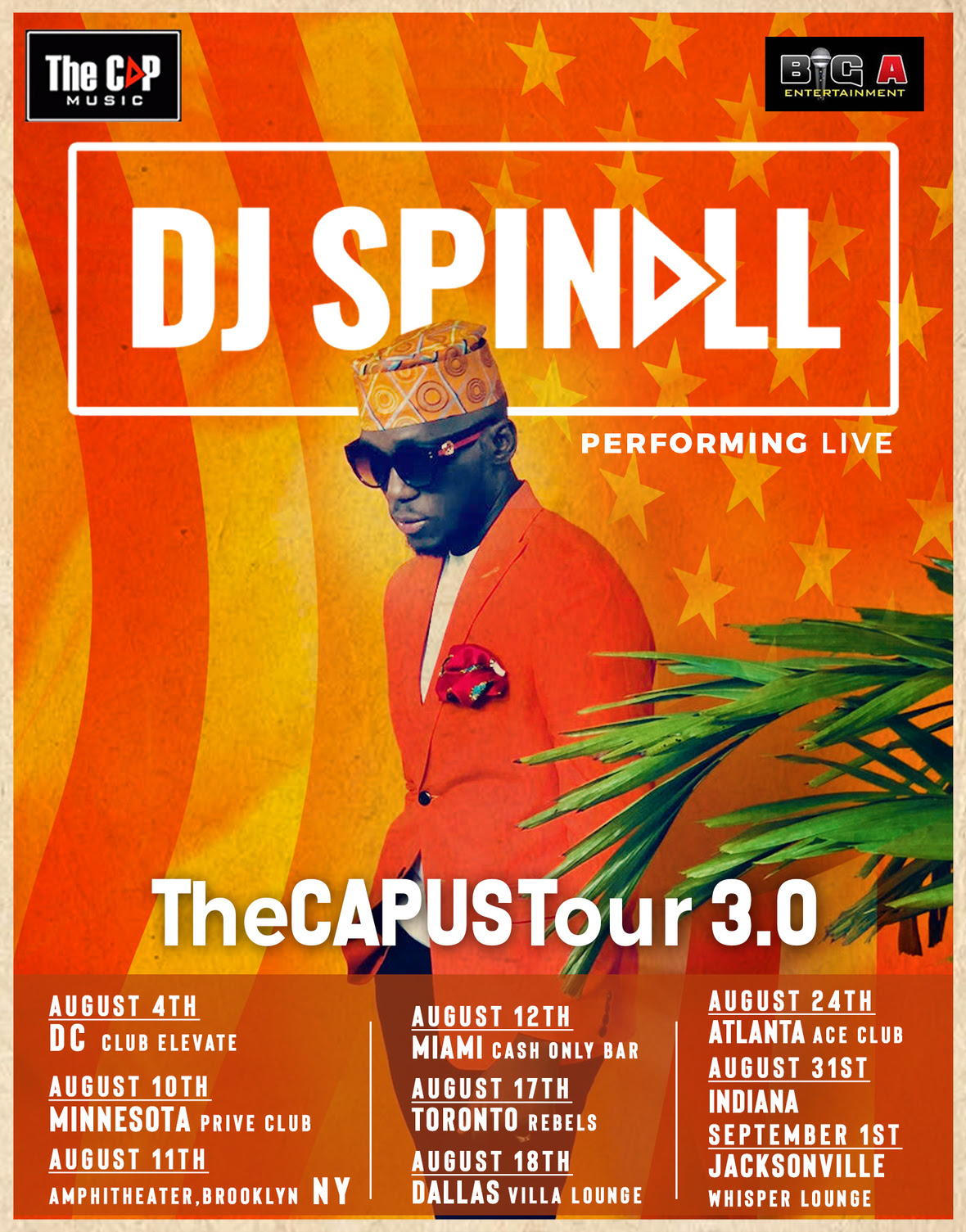 Photo of DJ SPINALL SET TO COMMENCE US & CANADA TOUR