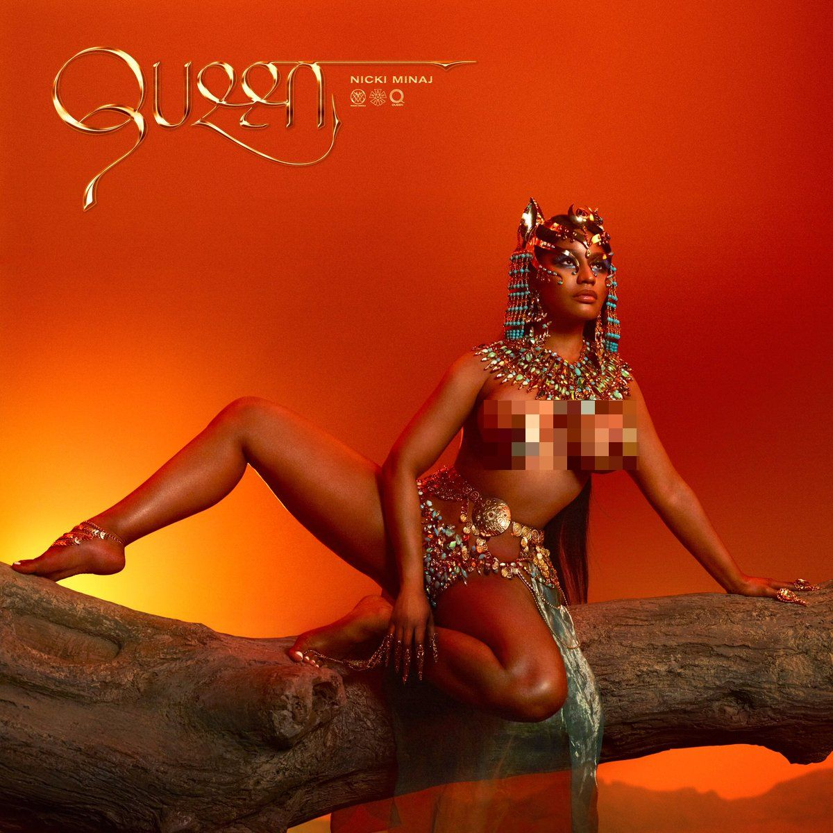 "Photo of NICKI MINAJ RELEASES 4TH STUDIO ALBUM ""QUEEN,"" EXPLAINS WHY SHE WENT AFTER DRAKE, MEEK MILL, DJ KHALED"