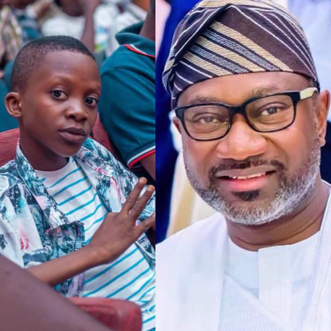 Photo of FEMI OTEDOLA PLEDGES SCHOLARSHIP FOR 11-YEAR OLD RAP SENSATION MEGABYTE
