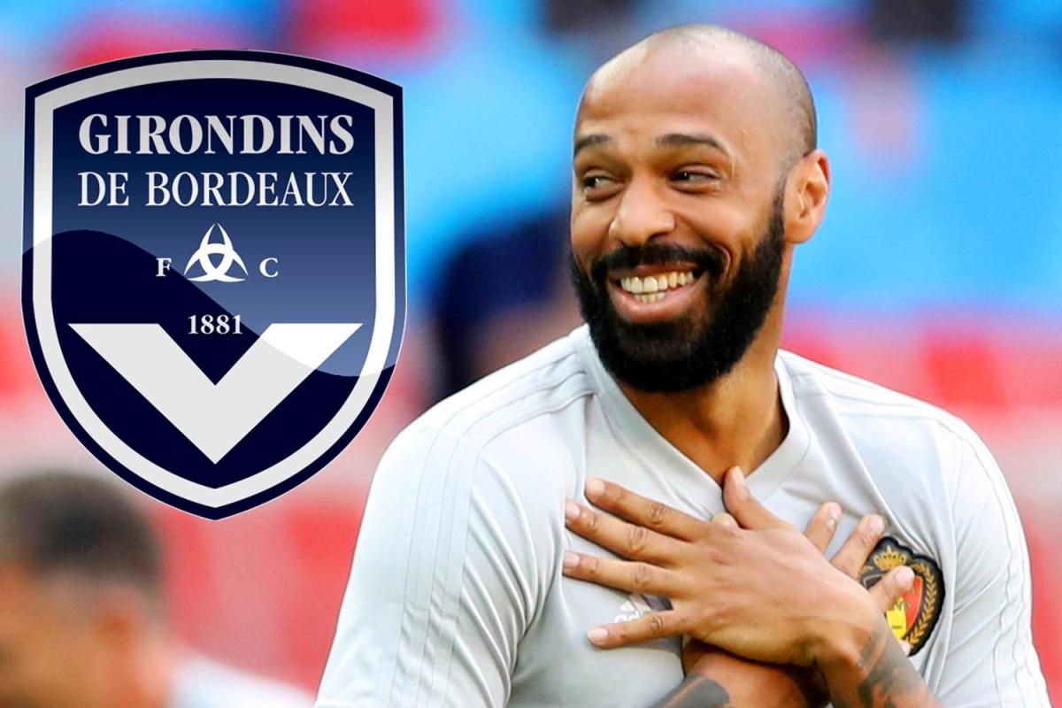 Photo of FOOTBALL LEGEND, THIERRY HENRY AGREES TO COACH FRENCH CLUB, BORDEAUX