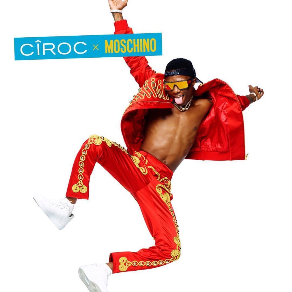 Photo of MOSCHINO COLLABORATES WITH WIZKID FOR PARTNERSHIP WITH CIROC