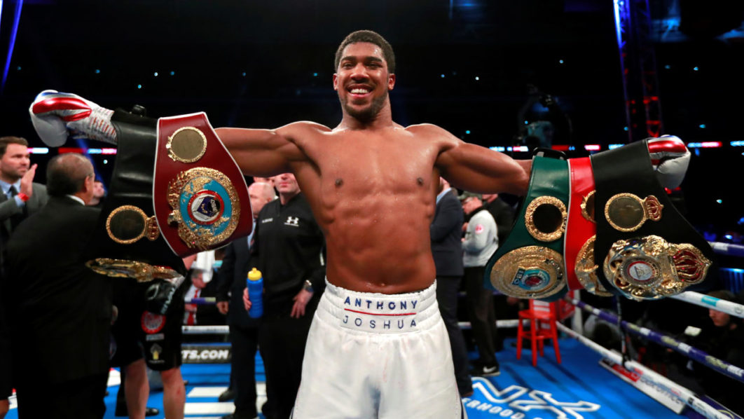 Photo of ANTHONY JOSHUA KNOCKS OUT ALEXANDER POVETKIN TO RETAIN WORLD TITLES
