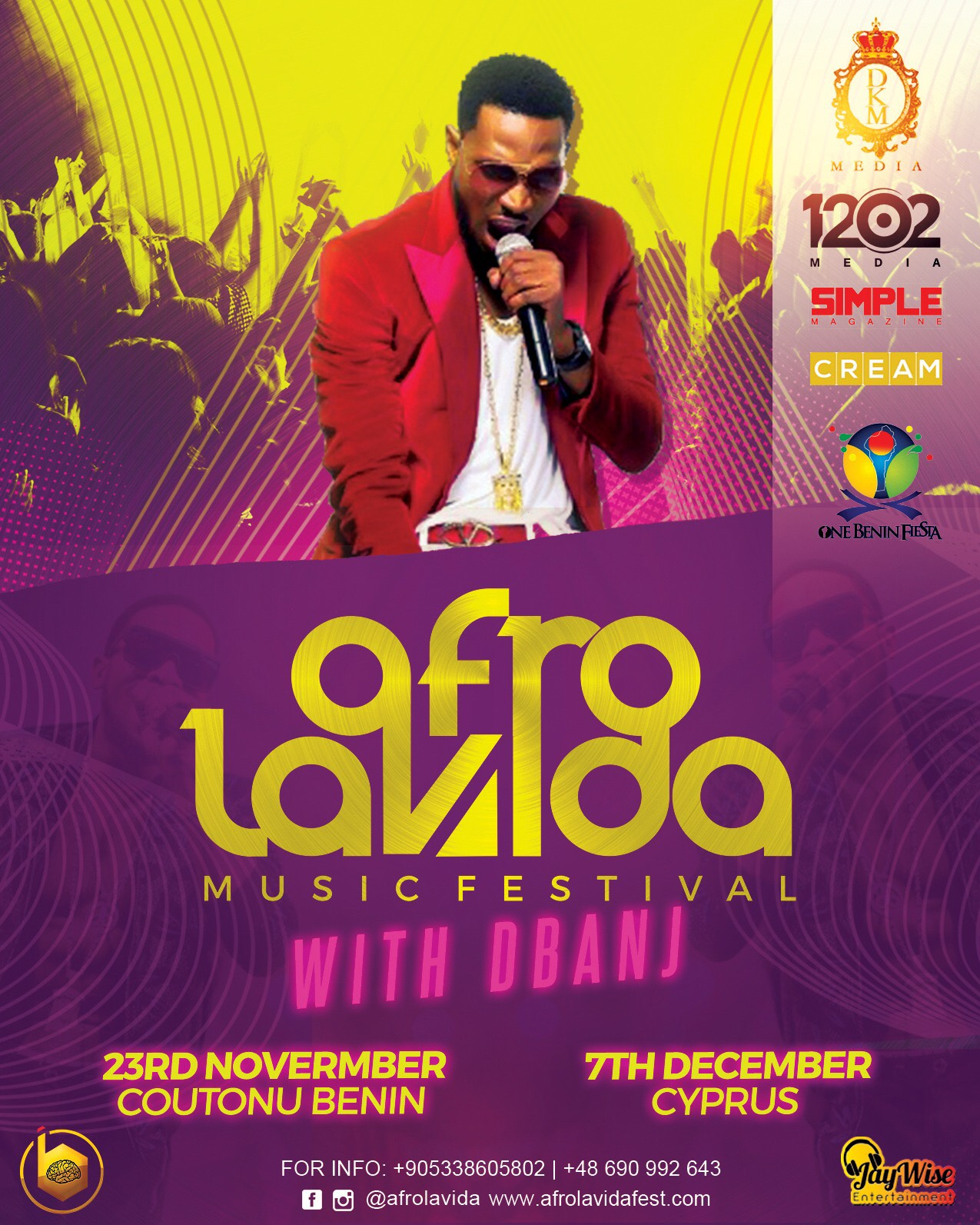 Photo of D'BANJ GOES ON TOUR WITH AFROLAVIDA MUSIC FESTIVAL