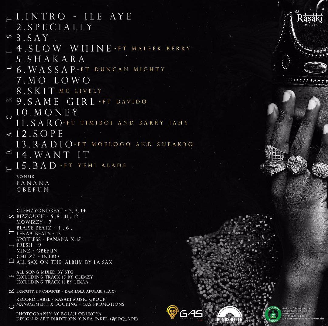 Photo of L.A.X UNVEILS TRACK LIST FOR HIS 'RASAKING' DEBUT ALBUM
