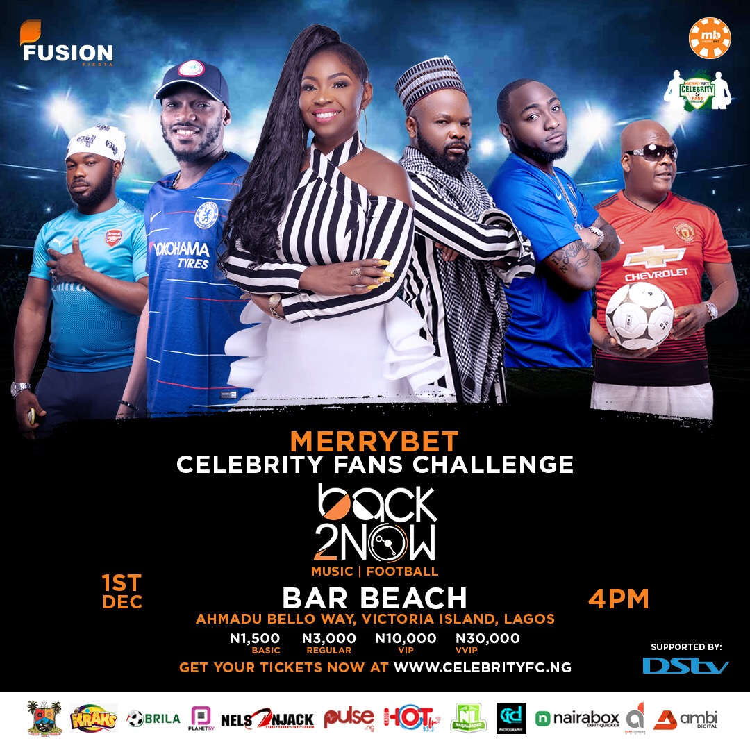 Photo of CELEBRITY FANS CHALLENGE UNVEILS A STAR STUDDED ARTISTES LIST FOR 2018 EDITION