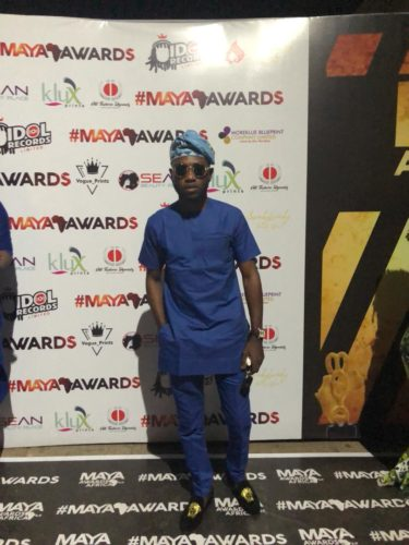 Photo of DAMI ADENUGA WINS BIG AS HE WALKS HOME WITH THE ENTERTAINMENT PERSONALITY OF THE YEAR AT MAYA AWARDS AFRICA