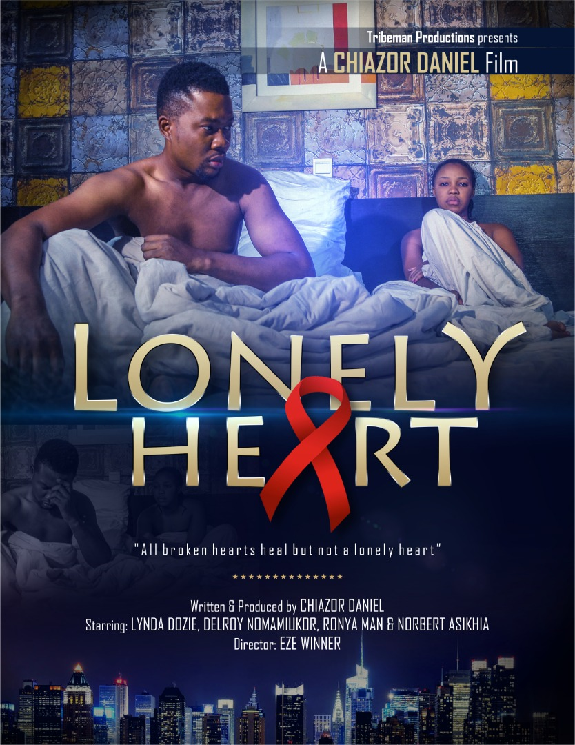 Photo of LYNDA DOZIE, RONYA MAN, DELROY NOMAMIUKOR & NORBERT ASIKHIA STAR IN HIV AWARENESS SHORT FILM LONELY HEART