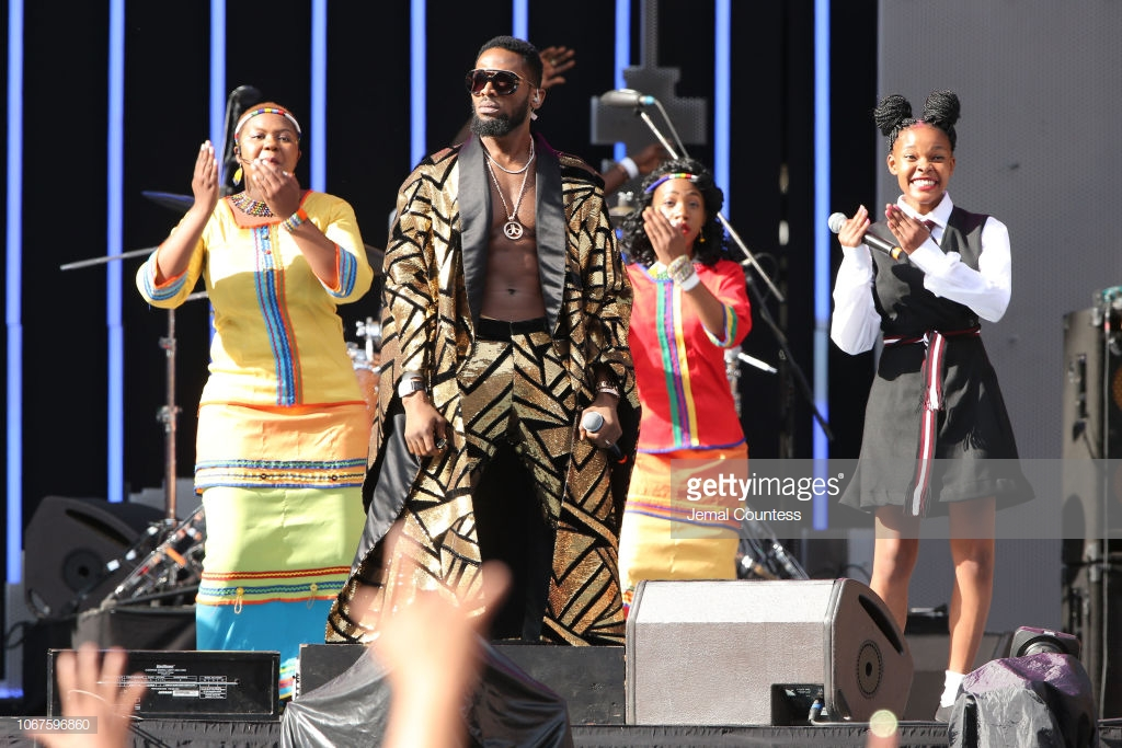 Photo of D'BANJ, TIWA SAVAGE, WIZKID, FEMI KUTI AND OTHERS PERFORM AT GLOBAL CITIZENS FESTIVAL IN SOUTH AFRICA