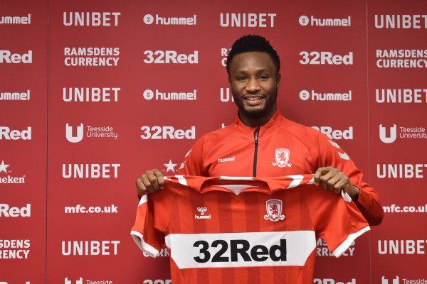 Photo of MIKEL OBI JOINS ENGLISH CLUB MIDDLESBROUGH