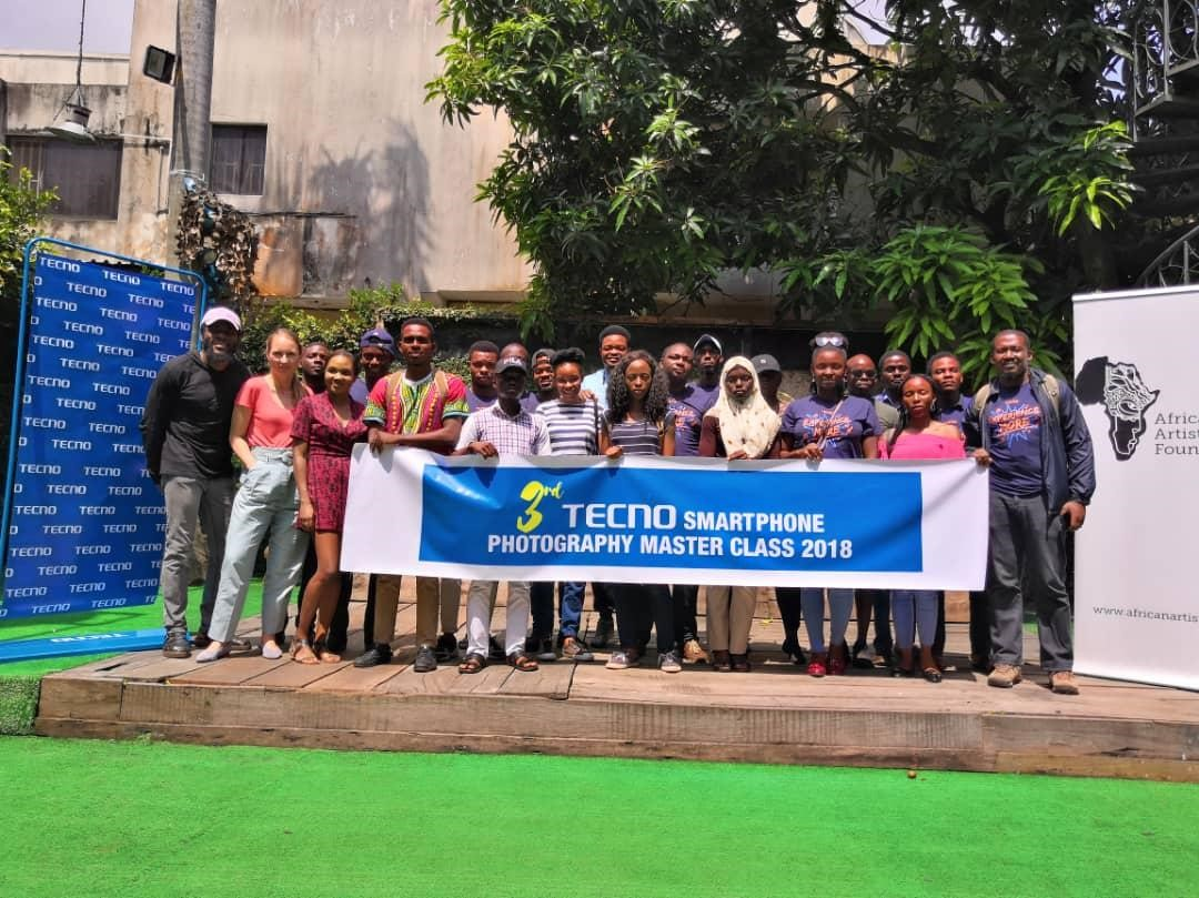 Photo of TECNO HOSTS SMARTPHONE PHOTOGRAPHY MASTER CLASS AT LAGOS PHOTO FESTIVAL