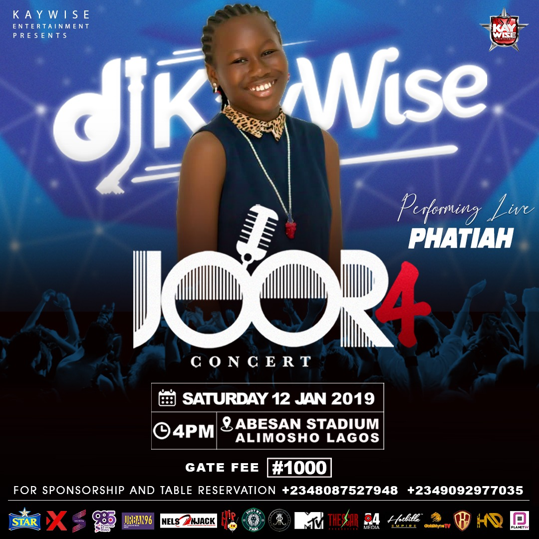 "Photo of PHATIAH SET TO PERFORM AT THE BIGGEST CONCERT IN MAINLAND ""JOOR CONCERT"""