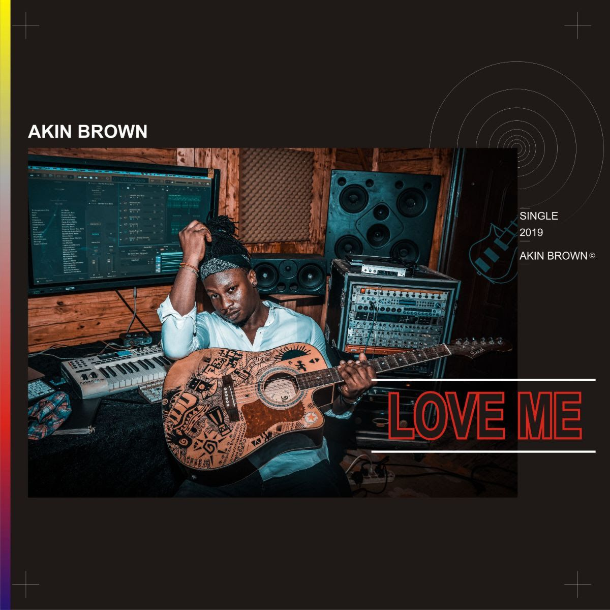 Photo of Classic Poppy-Reggae Vibe of Akin Brown's New Single 'Love Me'
