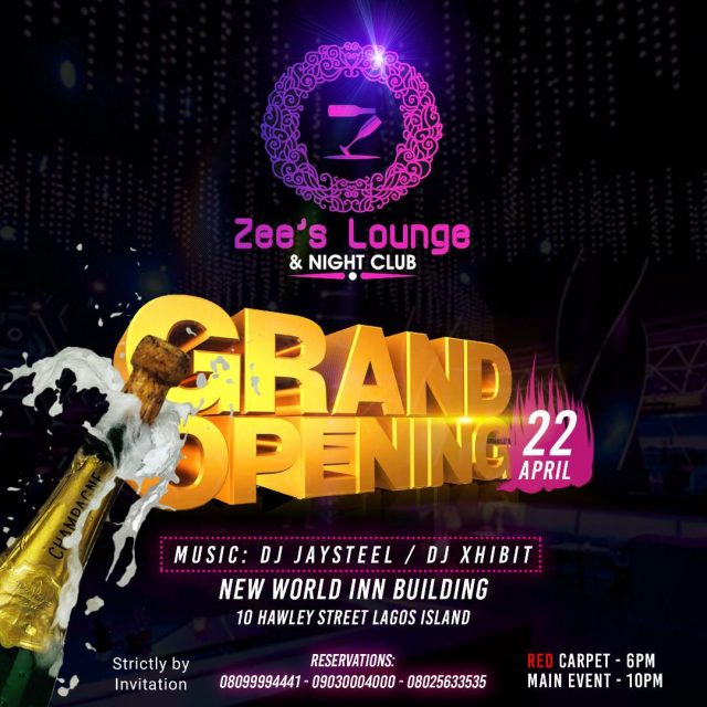 Photo of ZEE'S LOUNGE SET TO LAUNCH THE BIGGEST NIGHT CLUB IN LAGOS ISLAND