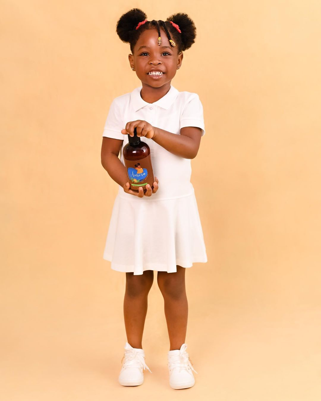 Photo of BABY BOSS; DAVIDO'S 4-YEAR OLD DAUGHTER IMADE JUST LAUNCHED AN ORGANIC HAIR CARE PRODUCT